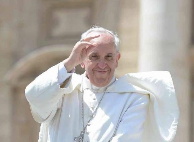 Pape Francois sourire